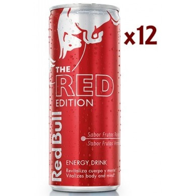 Red Bull Red Edition Box 12Uds